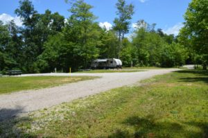 RV campgrounds at High Rock Hideaways in Hocking Hills