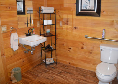Escape Cabin Bathroom