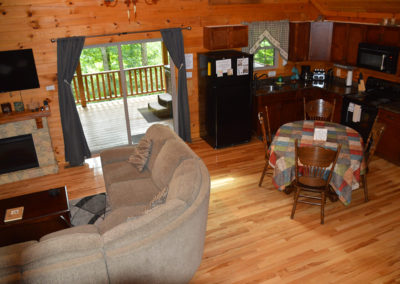 Escape Cabin Living Room
